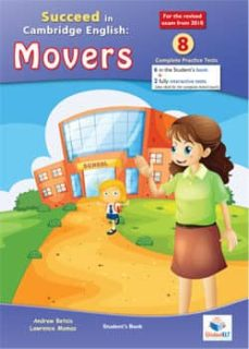 succeed in movers-2018 format-8 tests -cd-9781781645093