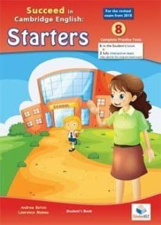 succeed in starters-2018 format-8 tests - sb + cd-9781781645109