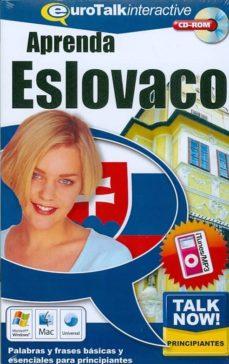 talk now! learn eslovaco (beginners) (cd-rom)-9781843520245