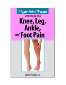 trigger point therapy for knee, leg, ankle, and foot pain-9780996855341