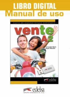 vente a2 libro digital y manual de uso-9788490815182