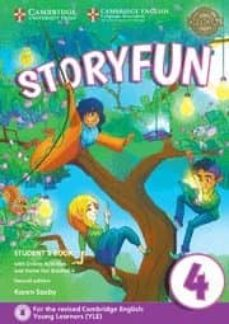 storyfun for movers (2nd edition - 2018 exam) 1 student s book with online activities & home fun booklet-9781316617175