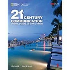 21st century communication 1: listening, speaking and critical thinking: student book with online workbook-9781337275804