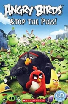 angry birds: stop the pigs (book + cd)-9781407169866
