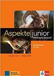 aspekte junior b1 + medienpaket audio + dvd-9783126052535