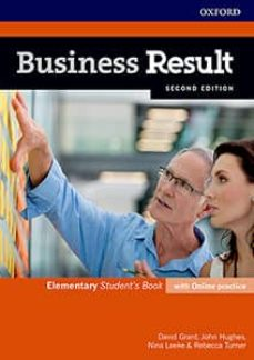business result elementary student s book with online practice-9780194738668