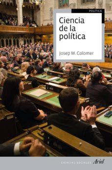 ciencia de la politica-josep m. colomer-9788434425286