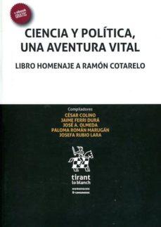 ciencia y politica, una aventura vital: libro homenaje a ramon cotarelo-9788491198642