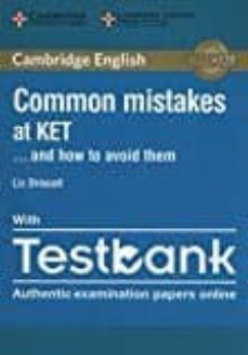 common mistakes at ket... and how to avoid them paperback with testbank-9781316636176