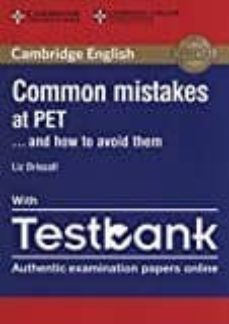 common mistakes at pet... and how to avoid them paperback with testbank-9781316635872
