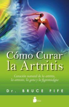 como curar la artritis-bruce fife-9788416233328