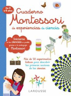 cuaderno montessori de experiencias de ciencia-9788418100314
