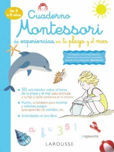 cuaderno montessori de experiencias en la playa y el mar-9788418100338