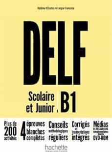 delf b1 scolaire et junior+dvd rom-9782014016154
