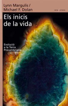 els inicis de la vida-lynn margulis-michael f. dolan-9788498240658