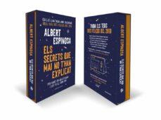 els secrets que mai no t han explicat (edició especial amb calend ari personalitzat)-albert espinosa-9788416930197