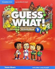 guess what 1 activity book with guess what you can do at home & online interactive activities-9788490360422