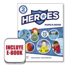heroes 2 pupil´s book (srp & ppack & ebook) pack-9780230493131