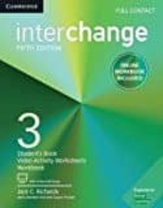 interchange (5th edition) 3 full contact with online self-study & online workbook-9781316623749