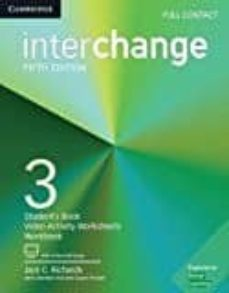 interchange (5th edition) 3 full contact with online self-study-9781316624050