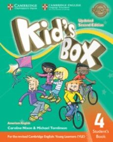 kid s box (us english) (updated 2nd ed - 2018 yle exams) 4 student s book-9781316627549