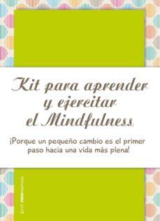 kit para aprender y ejercitar el mindfulness  (pack libreta + cuaderno)-antonio f. rodriguez esteban-9788408173687