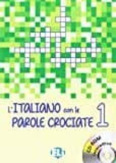 l italiano con le parole crociate: book 1 + dvd-rom-9788853620729
