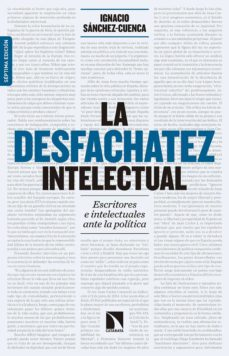 la desfachatez intelectual (7ª ed. ampliada)-ignacio sanchez-cuenca rodriguez-9788490972595