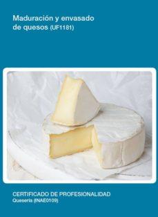 maduración y envasado de quesos (uf1181)-9788416424788