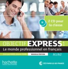 objectif express 1 ne : cd audio classe-3095561960235