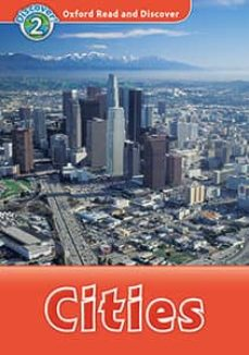 oxford read and discover level 2: cities book with mp3-9780194021555