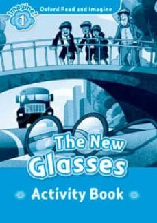 oxford read and imagine 1. the new glasses activity book-9780194709347