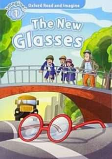 oxford read and imagine 1. the new glasses audio pack-9780194709385