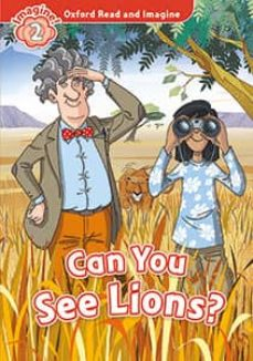 oxford read and imagine: level 2: can you see lions? mp3 pack-9780194017558