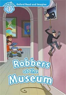 oxford read & imagine 1 robbers at the museum mp3 pack-9780194017466