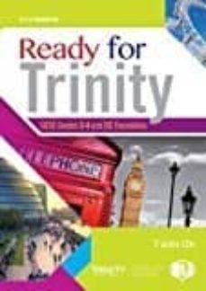 ready for trinity 3 - 4 + cd-9788853622495