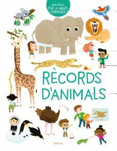 records d animals-erell guegen-9788447942480