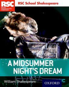 rsc school shakespeare: a midsummer night s dream-9780198364818