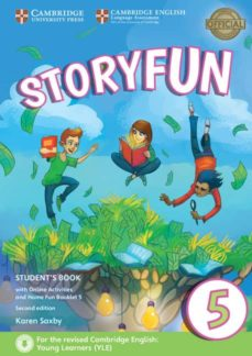 storyfun for flyers (2nd edition - 2018 exam) 1 student s book with online activities & home fun booklet-9781316617243