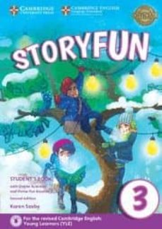 storyfun for movers (2nd edition - 2018 exam) 1 student s book with online activities & home fun booklet-9781316617151