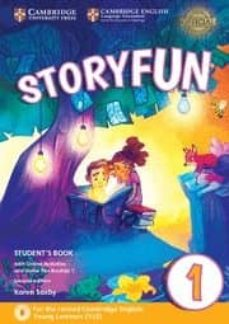 storyfun for starters (2nd edition - 2018 exam) 1 student s book with online activities & home fun booklet-9781316617014