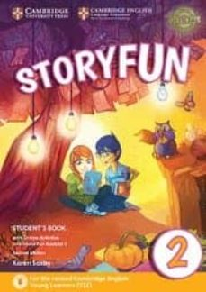 storyfun for starters (2nd edition - 2018 exam) 2 student s book with online activities & home fun booklet-9781316617021