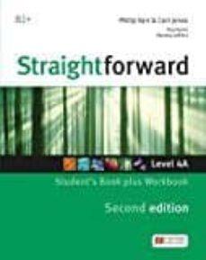 straightforward (2nd edition - split) 4a (b2+ / upper intermediate) student s book & workbook with workbook audio cd-9781786329981