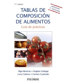 tablas de composicion de alimentos: guia de practicas (17ª ed.)-olga moreiras tuni-angel carbajal-9788436833638