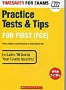 timesaver for exams: pracice tests & tips for fce 1 (first) with cd-9781407169705