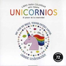 unicornios (compactos arte-terapia) libro para colorear-9788490680896