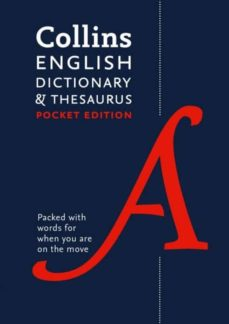 collins english dictionary and thesaurus pocket edition: all-in-one language support in a portable format-9780008141790