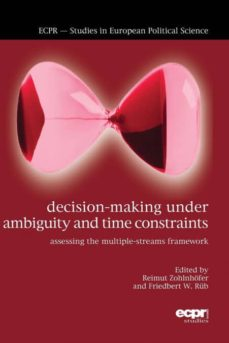 decision-making under ambiguity and time constraints-9781785522536
