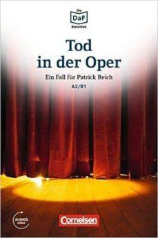 die daf-bibliothek a2-b1 - tod in der oper: neid und enttäuschung. lektüre. mit mp3-audios als download-9783061207571