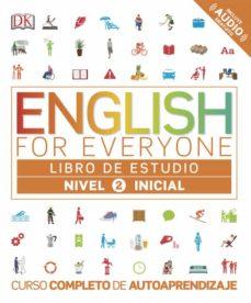 english for everyone (ed. en español) nivel inicial 2 - libro de estudio-9780241281673